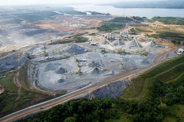 Imagem aérea de Altamira, no Pará